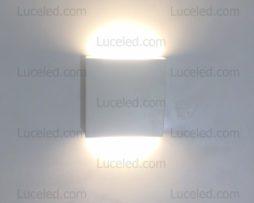 Lampada quadrata led w bi emissione xc u luceled
