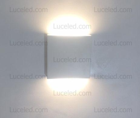 Lampada quadrata LED 12W bi-emissione XC-9044  Luceled