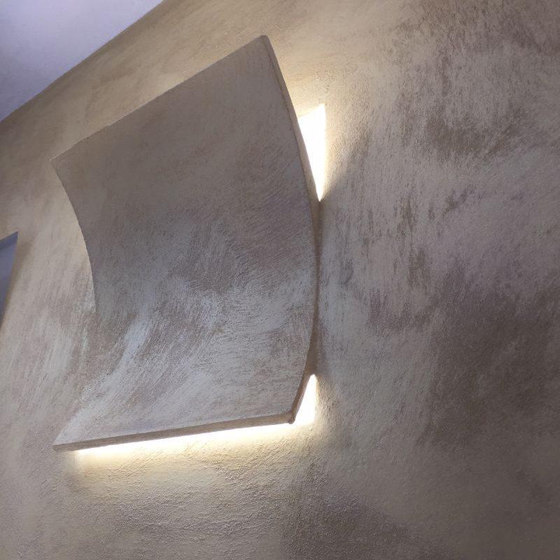 Applique in gesso da incasso led samsung 12w o 24w vlcg155 - Applique in gesso da parete ...