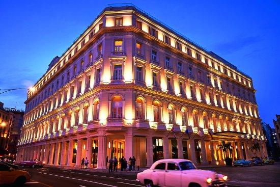 La luce led per un hotel