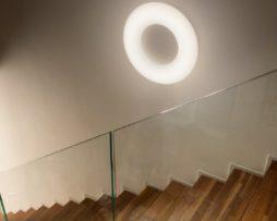 Plafoniera A Parete Per Interni : Lampade da parete luceled