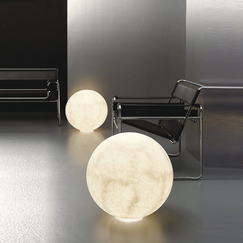 In-es.artdesign Luna lampada di design da terra Floor Moon 1 2 e 3