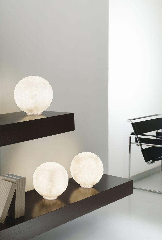 Design Lampade Da Tavolo in-es.artdesign luna lampada di design da tavolo t.moon micro 1 e 2