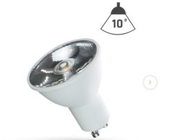 SpectrumLed – FARETTO SPOTLIGHT LED GU10 6W 10°