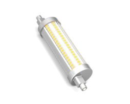 BOT LIGHTING LAMPADINA LED R7S SMD BULBO TUBOLARE CON ATTACCO ASIMMETRICO 15W L118 MM DIMMERABILE MOD. SLD9716X2D / SLD9716X3D