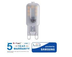 V-TAC PRO LAMPADINA LED G9 BULBO 2,5W VT-203 – SKU 243 / 244 / 245
