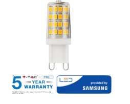 V-TAC PRO LAMPADINA LED G9 BULBO 3W VT-204 – SKU 246 / 247 / 248