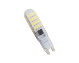 SILVANYLUX LAMPADINA LED G9 BULBO IN SILICONE SLIM 5W MOD. GRN852