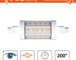 FSL LAMPADINA LED R7S 5,5W L78 25x78mm CRI80