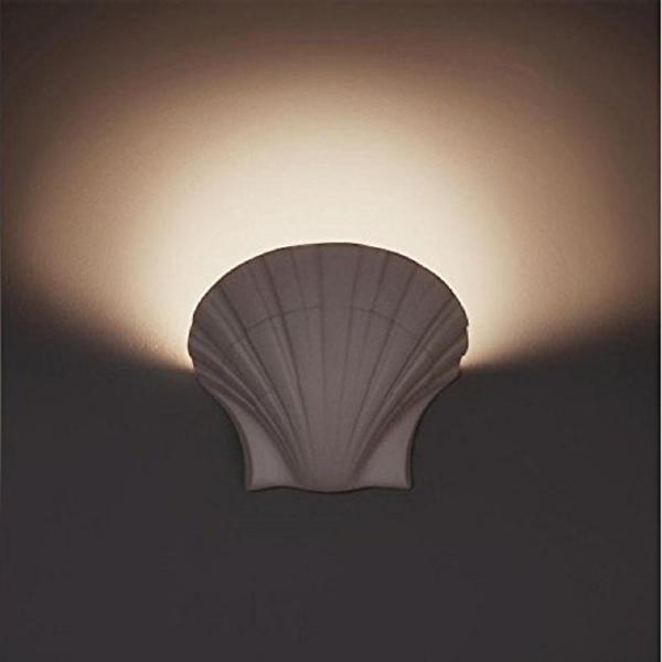 Applique in gesso lampada parete moderno attacco e27 - Applique in gesso da parete ...